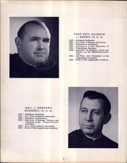 Page 10, 1954 Edition, Augustinian Academy - Augustinian Yearbook (Staten Island, NY) online yearbook collection