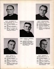 Page 11, 1954 Edition, Augustinian Academy - Augustinian Yearbook (Staten Island, NY) online yearbook collection