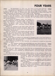 Page 14, 1955 Edition, Augustinian Academy - Augustinian Yearbook (Staten Island, NY) online yearbook collection