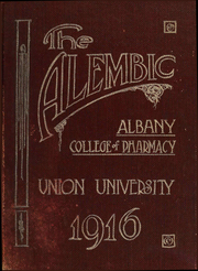 Albany College of Pharmacy - Alembic Yearbook (Albany, NY) online yearbook collection, 1916 Edition, Page 1
