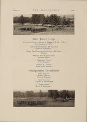 Page 10, 1921 Edition, Manlius School - Haversack Yearbook (Manlius, NY) online yearbook collection