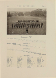 Page 15, 1921 Edition, Manlius School - Haversack Yearbook (Manlius, NY) online yearbook collection