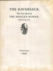 Page 7, 1932 Edition, Manlius School - Haversack Yearbook (Manlius, NY) online yearbook collection