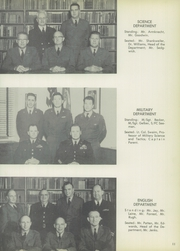 Page 15, 1954 Edition, Manlius School - Haversack Yearbook (Manlius, NY) online yearbook collection