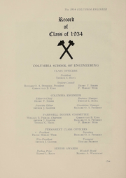 Page 11, 1934 Edition, Columbia University School of Engineering - Yearbook (New York, NY) online yearbook collection