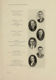 Page 12, 1934 Edition, Columbia University School of Engineering - Yearbook (New York, NY) online yearbook collection