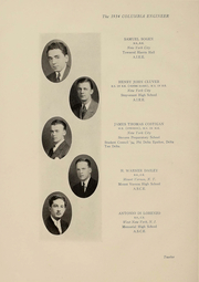 Page 13, 1934 Edition, Columbia University School of Engineering - Yearbook (New York, NY) online yearbook collection