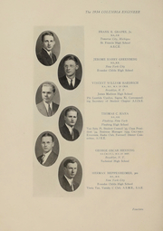Page 15, 1934 Edition, Columbia University School of Engineering - Yearbook (New York, NY) online yearbook collection