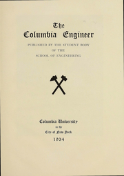 Page 4, 1934 Edition, Columbia University School of Engineering - Yearbook (New York, NY) online yearbook collection