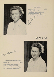 Page 13, 1948 Edition, Wyoming County Hospital School of Nursing - Caduceus Yearbook (Warsaw, NY) online yearbook collection