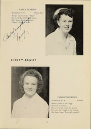 Page 16, 1948 Edition, Wyoming County Hospital School of Nursing - Caduceus Yearbook (Warsaw, NY) online yearbook collection