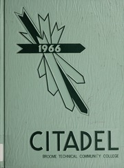 Broome Community College - Citadel Yearbook (Binghamton, NY) online yearbook collection, 1966 Edition, Page 1
