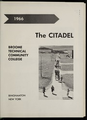 Page 5, 1966 Edition, Broome Community College - Citadel Yearbook (Binghamton, NY) online yearbook collection