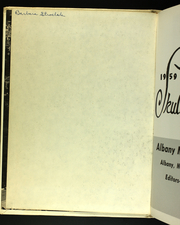 Page 4, 1959 Edition, Albany Medical College - Skull Yearbook (Albany, NY) online yearbook collection