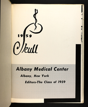 Page 5, 1959 Edition, Albany Medical College - Skull Yearbook (Albany, NY) online yearbook collection