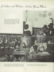 Page 17, 1949 Edition, Mount Mercy Academy - Mercienne Yearbook (Buffalo, NY) online yearbook collection