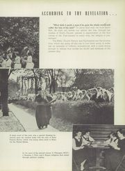 Page 17, 1950 Edition, Mount Mercy Academy - Mercienne Yearbook (Buffalo, NY) online yearbook collection
