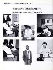 Page 12, 1988 Edition, John Jay College of Criminal Justice - Justitia Yearbook (New York, NY) online yearbook collection
