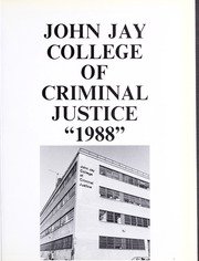 Page 5, 1988 Edition, John Jay College of Criminal Justice - Justitia Yearbook (New York, NY) online yearbook collection