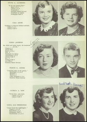 Page 15, 1952 Edition, Allegany Central High School - Foothills Yearbook (Allegany, NY) online yearbook collection