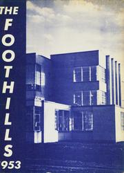 1953 Edition, Allegany Central High School - Foothills Yearbook (Allegany, NY)