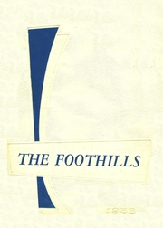 1958 Edition, Allegany Central High School - Foothills Yearbook (Allegany, NY)