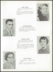 Page 15, 1958 Edition, Allegany Central High School - Foothills Yearbook (Allegany, NY) online yearbook collection