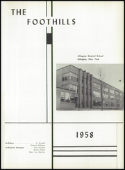 Page 5, 1958 Edition, Allegany Central High School - Foothills Yearbook (Allegany, NY) online yearbook collection