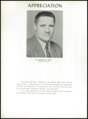Page 8, 1958 Edition, Allegany Central High School - Foothills Yearbook (Allegany, NY) online yearbook collection