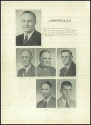 Page 10, 1952 Edition, Angelica Central School - Echo Yearbook (Angelica, NY) online yearbook collection