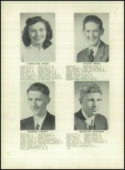 Page 16, 1952 Edition, Angelica Central School - Echo Yearbook (Angelica, NY) online yearbook collection
