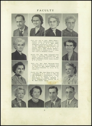 Page 9, 1952 Edition, Angelica Central School - Echo Yearbook (Angelica, NY) online yearbook collection