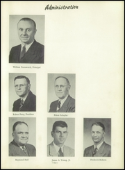 Page 13, 1954 Edition, Angelica Central School - Echo Yearbook (Angelica, NY) online yearbook collection