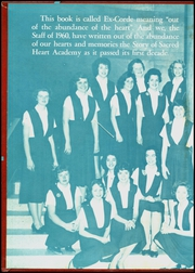 Page 2, 1960 Edition, Sacred Heart Academy - Ex Corde Yearbook (Hempstead, NY) online yearbook collection