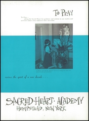Page 7, 1960 Edition, Sacred Heart Academy - Ex Corde Yearbook (Hempstead, NY) online yearbook collection