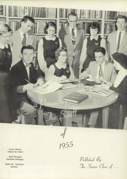 Page 5, 1955 Edition, Augustinian Academy - Scroll Yearbook (Carthage, NY) online yearbook collection