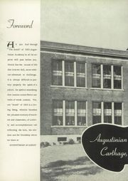 Page 6, 1955 Edition, Augustinian Academy - Scroll Yearbook (Carthage, NY) online yearbook collection