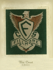 Fillmore Central High School - Crest Yearbook (Fillmore, NY) online yearbook collection, 1951 Edition, Page 1