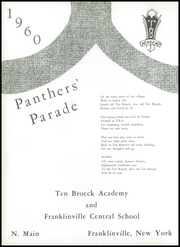 Page 6, 1960 Edition, Franklinville Central High School - Trails Yearbook (Franklinville, NY) online yearbook collection