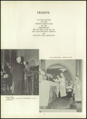 Page 10, 1952 Edition, St Marys Academy - Crown Yearbook (Glens Falls, NY) online yearbook collection