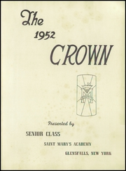 Page 5, 1952 Edition, St Marys Academy - Crown Yearbook (Glens Falls, NY) online yearbook collection