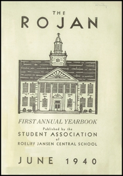 Page 3, 1940 Edition, Roeliff Jansen Central School - Ro Jan Yearbook (Hillsdale, NY) online yearbook collection