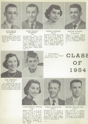 Page 12, 1954 Edition, Honeoye Falls Central High School - Hornet Yearbook (Honeoye Falls, NY) online yearbook collection