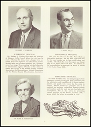 Page 11, 1957 Edition, Honeoye Falls Central High School - Hornet Yearbook (Honeoye Falls, NY) online yearbook collection
