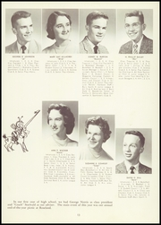 Page 17, 1957 Edition, Honeoye Falls Central High School - Hornet Yearbook (Honeoye Falls, NY) online yearbook collection