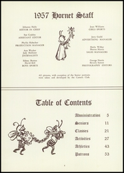 Page 8, 1957 Edition, Honeoye Falls Central High School - Hornet Yearbook (Honeoye Falls, NY) online yearbook collection