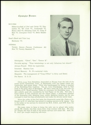 Page 15, 1956 Edition, Hoosac School - Owl Yearbook (Hoosick, NY) online yearbook collection