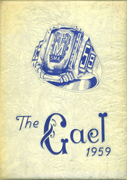 1959 Edition, St Marys Academy - Gael Yearbook (Little Falls, NY)