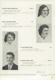 Page 17, 1959 Edition, St Marys Academy - Gael Yearbook (Little Falls, NY) online yearbook collection