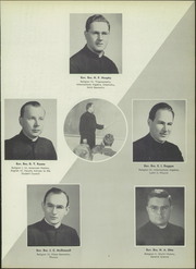 Page 11, 1952 Edition, Iona Preparatory School - Saga Yearbook (New Rochelle, NY) online yearbook collection